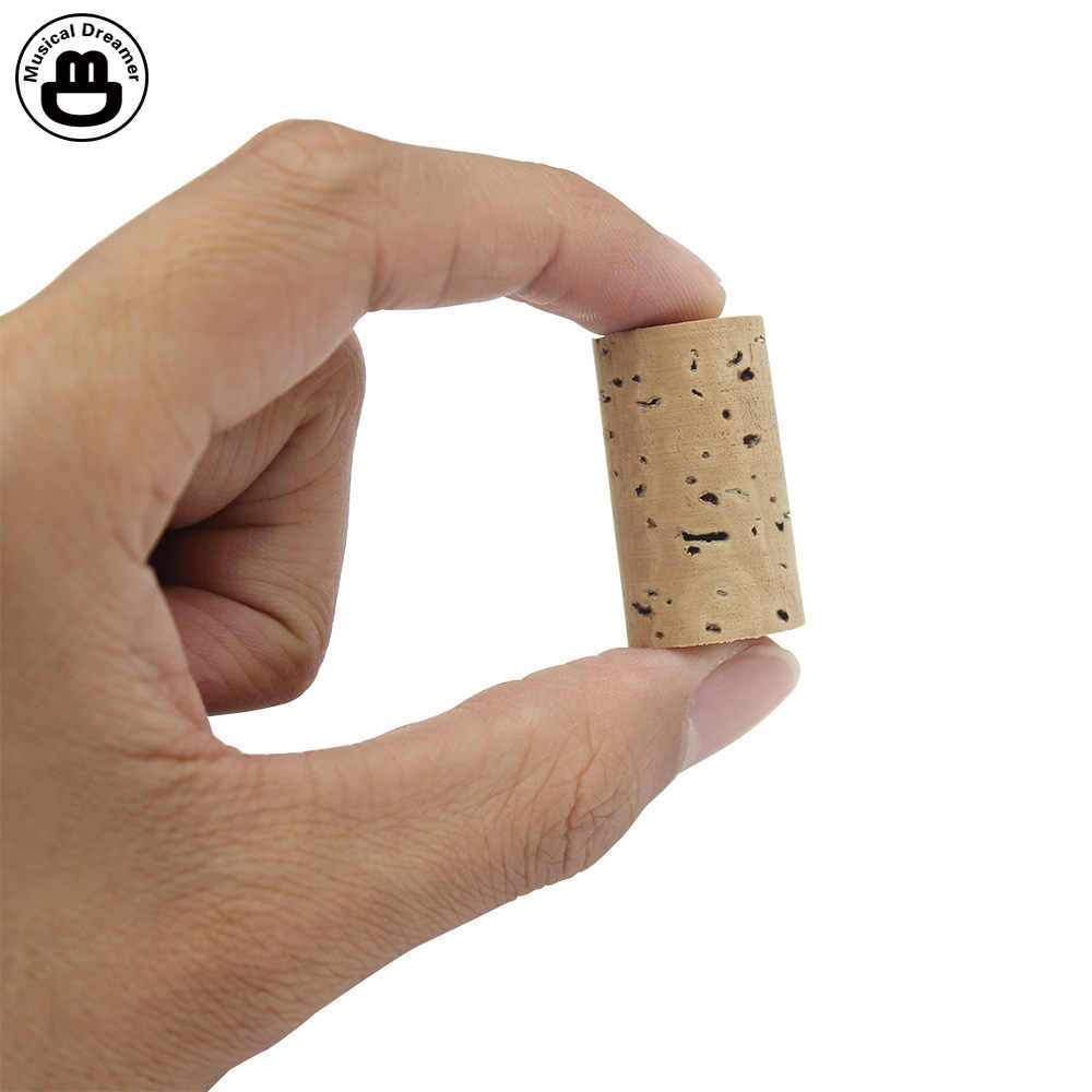 Flute Cork Headjoint Flute Repair Parts Natural Cork Stopper Replacement Part for Flute Musical Instrument Accessories
