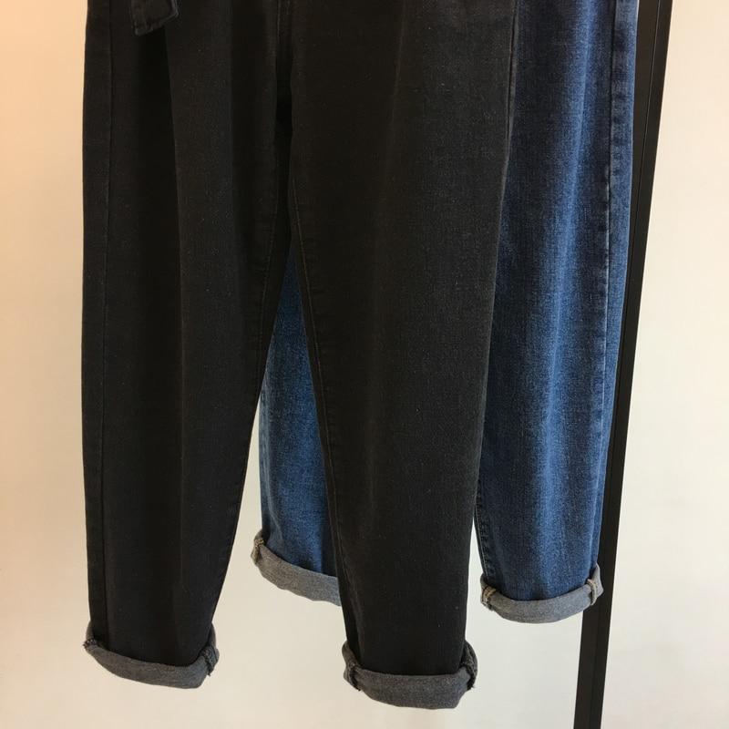 Nuevo black Espesar Fajas Tamaño S Plus Moda Señora Estudiante De Alta Regular Blue La Slim 5xl Cintura Pantalones Sólido Largo Vaqueros Bud Mujer wzqOBqxt