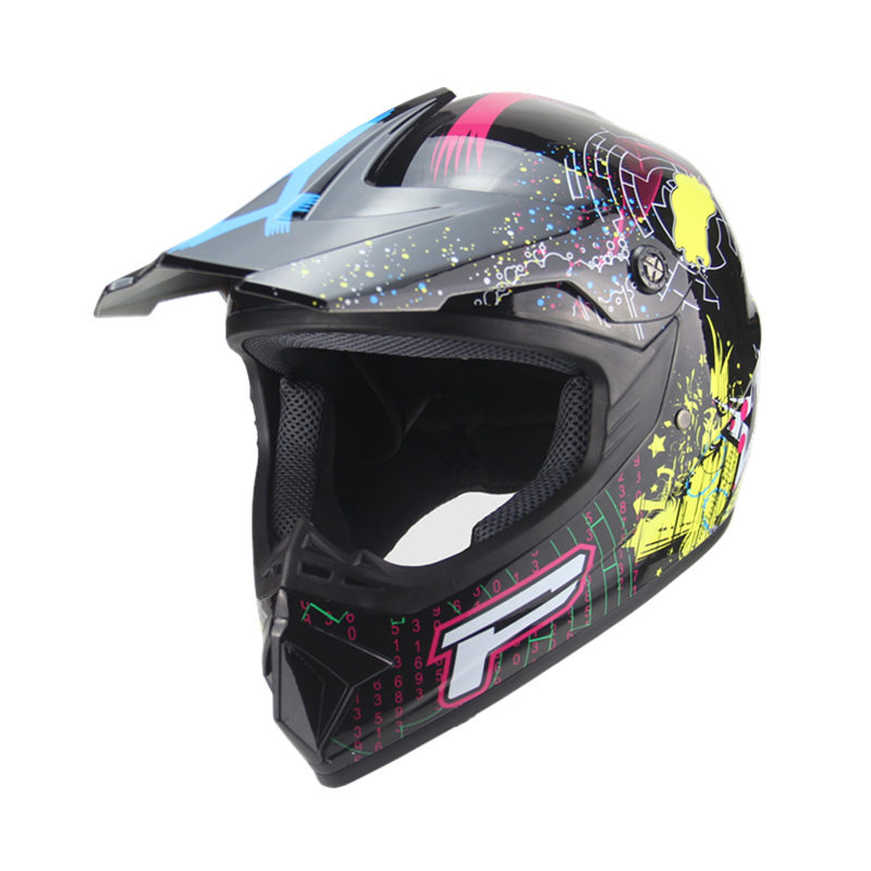 Erwachsene motorrad motocross Off Road Helm ATV Dirt bike Downhill MTB DH racing helm kreuz