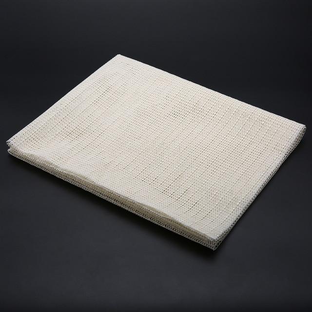 Pratical Non Slip Rug Underlay Runner Gripper Anti Mat Easy Cut Fold 60x100cm Furniture
