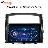 9 дюймов Android 8,1 автомобильный дюймов dvd gps навигация для Mitsubishi Pajero 2011 2006 Мультимедиа Радио dvd система
