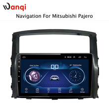 9 inch Android 8.1 car dvd gps navigation For Mitsubishi Pajero 2006-2011 multimedia radio dvd system