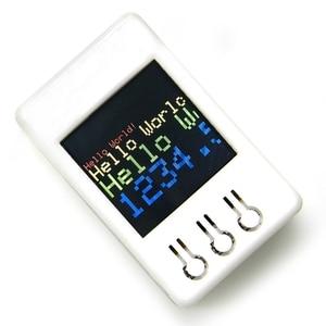 Image 3 - Ttgo ts v1.2 diy caixa esp32 1.44 Polegada 128x128 tft microsd cartão slot alto falantes bluetooth wifi módulo para equipamento de exibição, jogador