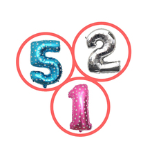 32inch Iridescent Rainbow Color Number Foil Balloons Birthday Wedding Party Decoration Digital Balloon  Melsnajsd