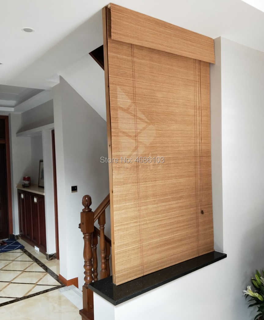 American style bamboo roller blinds window roller blinds blackout roller blinds printed curtain shutter curtain vintage porch