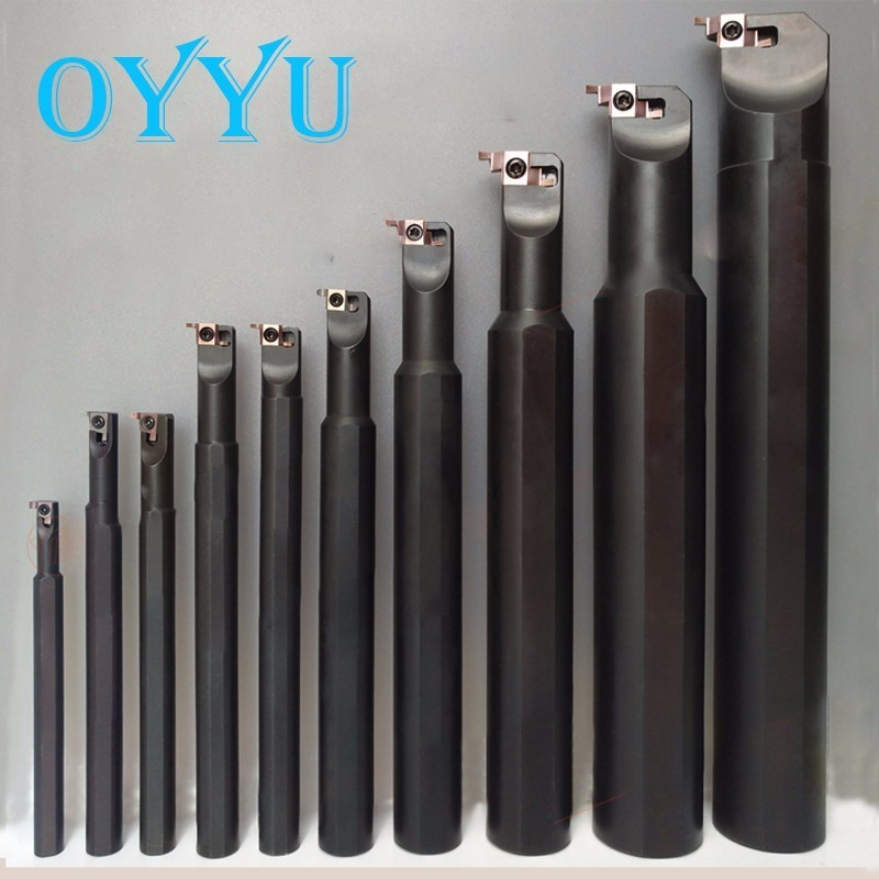 OYYU SIGER Small Bore Cutter Holder SIGER0808A 1010B 1210B 1412C 1616C 2020D-EH Turning Tool Holder Boring Bar CNC Lathe Tools