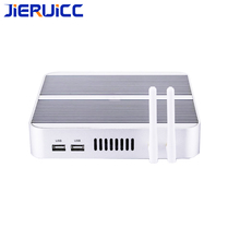 Fanless Mini PC Windows10 Thin Client Intel Nuc Cor Mini PC I5 4200u i3 7100u,i5 7200u,i7 4500u Max 16G RAM 512G SSD  Windows 10