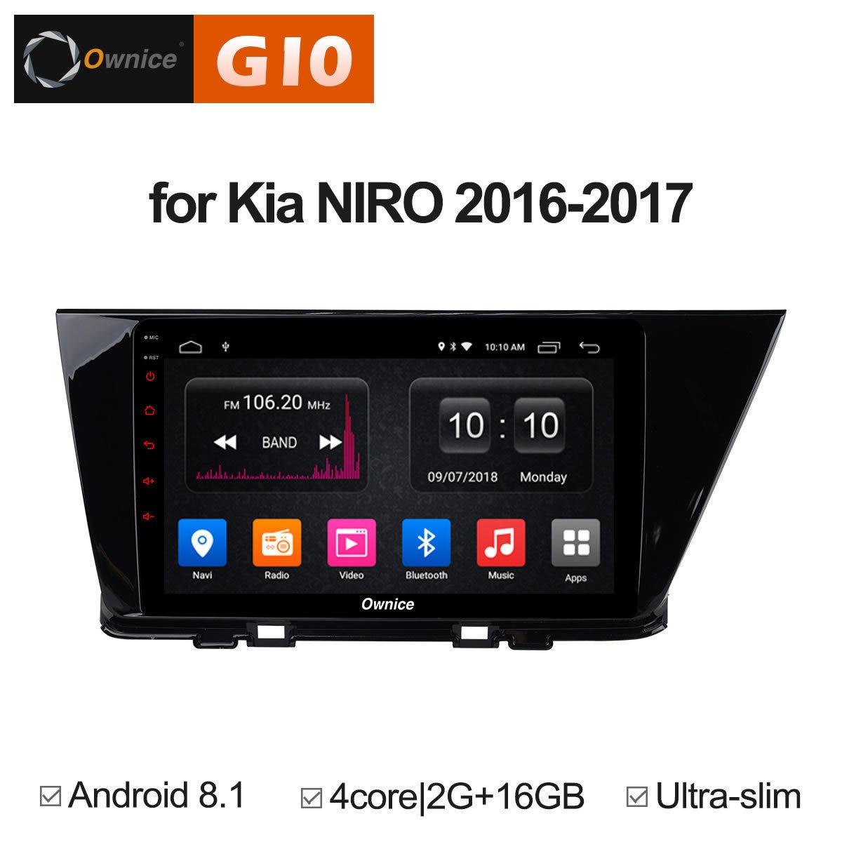 Для KIA Ниро 2016 2017 Авто DVD плеер gps Радио стерео автомобиль Интеллектуальный мультимедиа интеллектуальная система Android аудио DAB RDS