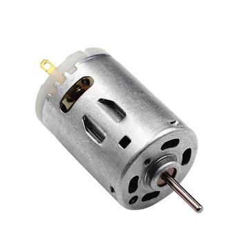 RS-385 High Speed Micro DC Motor Brushed Metal Stainless Steel For Electric Tools Motor & Accessories Equipment 27.7*60 mm image