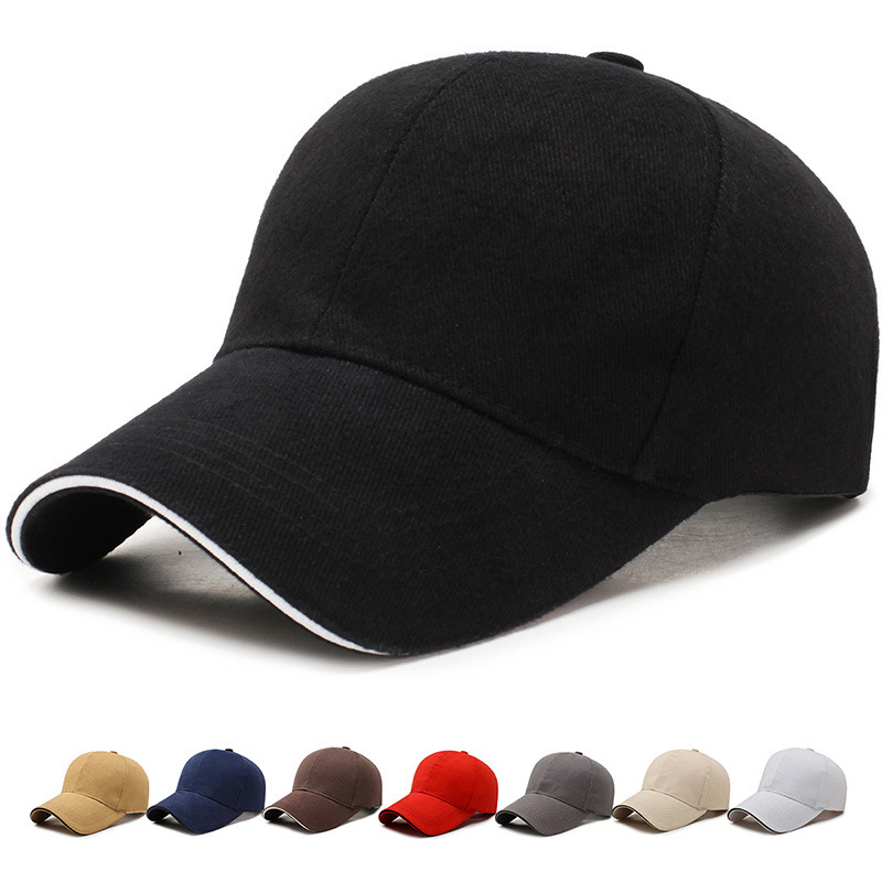 Baseball Cap For Men Women Classic Cotton Dad Hat Plain Cap Low Profile(China)