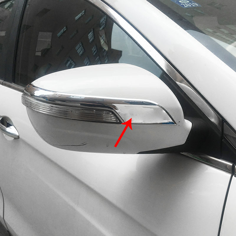 2pcs for dongfeng AX7 2016-2017 Rearview mirror Anti rubbing bar Decorative strip protection