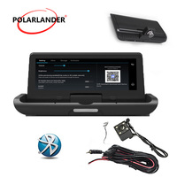 Image integrated machine 4LED 8 inch one button driving recorder GPS Android 4G navigation reversing