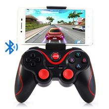 For Android IOS Mobile Phones PC Game Hand Bluetooth Wireless Gamepad Controller T3 Joystick S600 STB S3VR