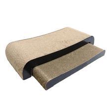 Cat Scratcher Cardboard Corrugated Paper Cats Scratch Board Grinding Nails Interactive Protecting Furniture Cat Scratcher Toy 4