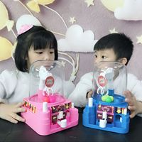 Creative Simulation Children Puzzle Game Children Toys Mini Catch Candy Machine Catch Crane Machine Small Clip Doll