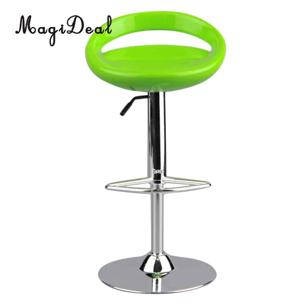 MagiDeal 1//6 Round Swivel Chair Pub Bar Stool for 12/'/' Action Figures Black