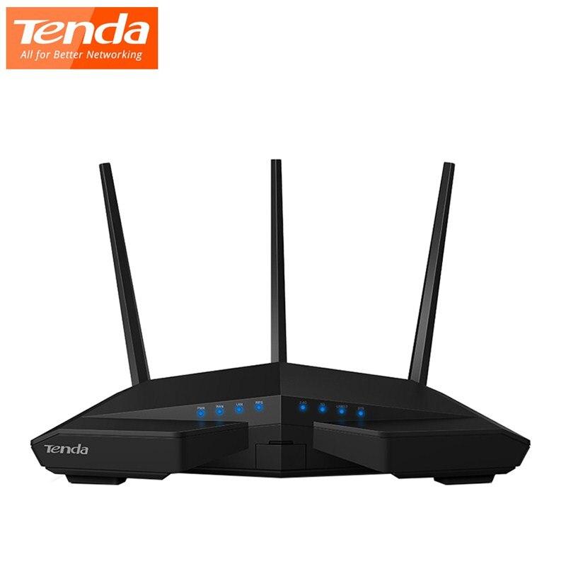 D'origine Tenda AC18 1900 Mbps Dual-band Gigabit Sans Fil routeur wifi 1300 Mbps à 5 GHz 600 Mbps à 2.4 GHz USB 3.0 Routeur
