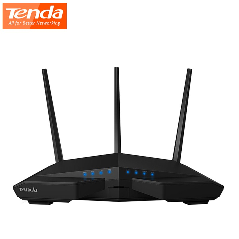 Routeur WiFi sans fil Gigabit double bande Tenda AC18 1900 Mbps 1300 Mbps à 5 GHz 600 Mbps à 2.4 GHz routeur USB 3.0