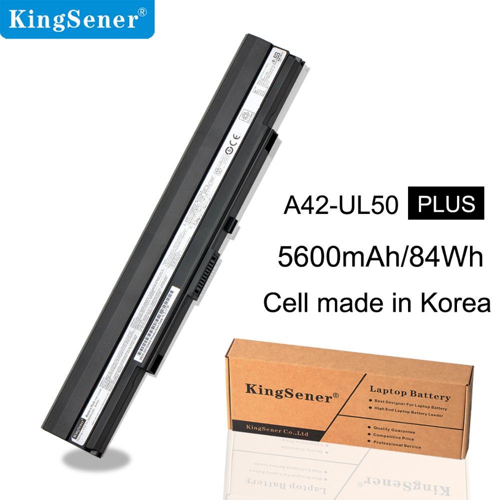 KingSener 15 V 84WH A42-UL50 bateria Do Portátil para ASUS UL30 UL30A U30JC UL50 UL80 U30 U35 U45 UL30A UL80A Series a41-UL80 A42-UL30