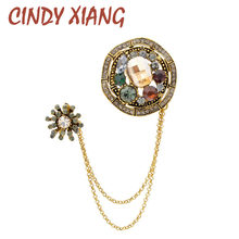 CINDY XIANG New Arrival Vintage Rhinestone(China)