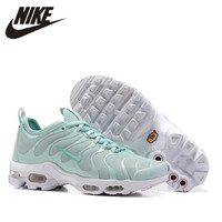 Nike New Arrival Original Air Max Plus TN ULTRA Women's Running Shoes Breathable Outdoor Sports Sneakers # 830768/898014