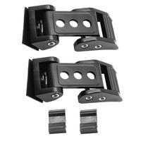1 Pair Auto Hood Lock Bonnet Locking Catch Latch Anti Theft Grille Lock Car Accesories For Jeep Wrangler JK JL 2007 2019