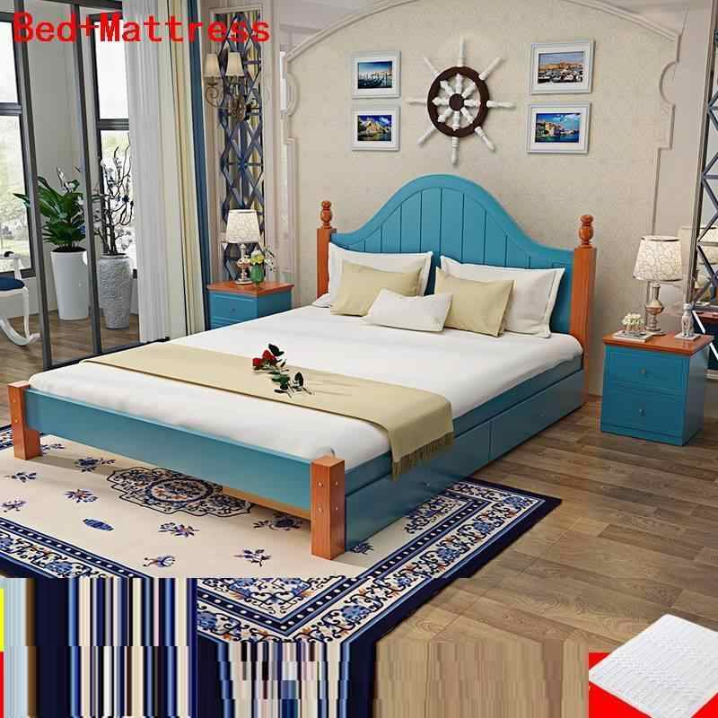 Matrimoniale Set Quarto Room Bett Single Literas Lit Enfant Ranza Totoro Cama Moderna bedroom Furniture Mueble De Dormitorio Bed