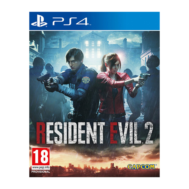 Игра для Sony PlayStation 4 Resident Evil 2, русские субтитры