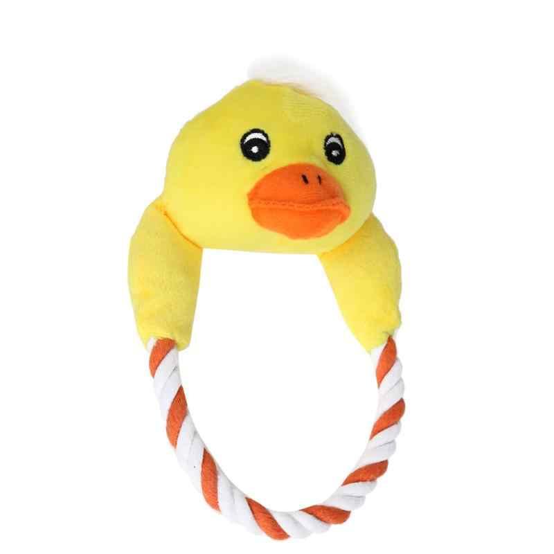 Игрушки для домашних собак ткань хлопок веревка форма Рождество Снежинка щенок жевательный писклявый звук игрушка плюшевые играющие домашние питомцы аксессуары для поставщиков