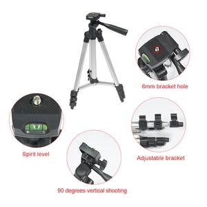 Image 4 - Protable Lightweight Aluminum bracket for projector Camera Tripod FT 810 Rocker Arm Carry Bag Universal Flexible Professional