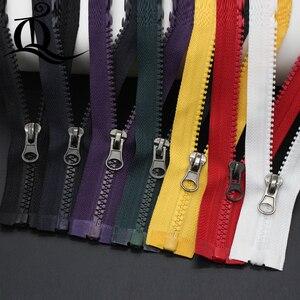 Разноцветные катушки, 5 #40-100 см, 1 шт., красивые резиновые молнии для сумки «сделай сам» и т. Д., ручные швейные инструменты, розничная продажа, ...