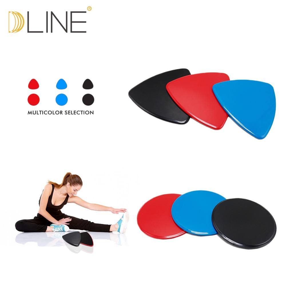 1 Paar Gleitscheibe Core Slider Ausbildung Crossfit Schiebe Yoga - Fitness und Bodybuilding - Foto 1
