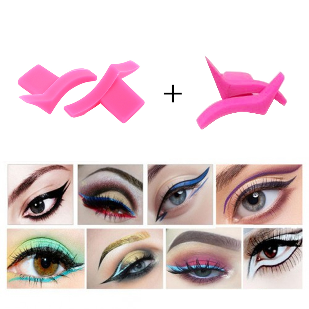 Beauty & Health Painstaking Elecool 4/2pcs Eyeliner Mold Wings Seal Stamps Easy To Wear Makeup Eyes Wing Liquid Eye Liner Tools Beauty Cosmetic Tool Tslm2 Beauty Essentials