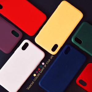 Image 5 - יוקרה רך סיליקון מקרה על עבור iPhone 7 8 בתוספת 6 6s x xs max xr 11 פרו עמיד הלם מקרה TPU סיליקון חזרה כיסוי מגן מקרה