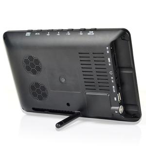 Image 3 - Taşınabilir 9 inç 16:9 1080P TFT Led HD PVR DVBT2 DVBT ISDB dijital Analog TV desteği USB TF kart okuyucu