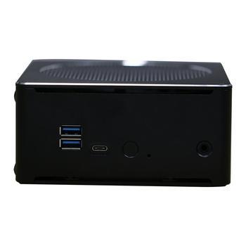 Mini PC,Desktop Computer,with Windows 10 Pro/Linux Ubuntu Support,Intel Core I7 8750H,[HUNSN BY01L],[4USB3.0/HD/RJ45/Mini DP] 1