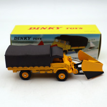 цена на 1/43 Atlas Dinky 567 CHASSE-NEIGE Unimog Snowplough MERCEDES-BENZ Diecast Models Toys Car