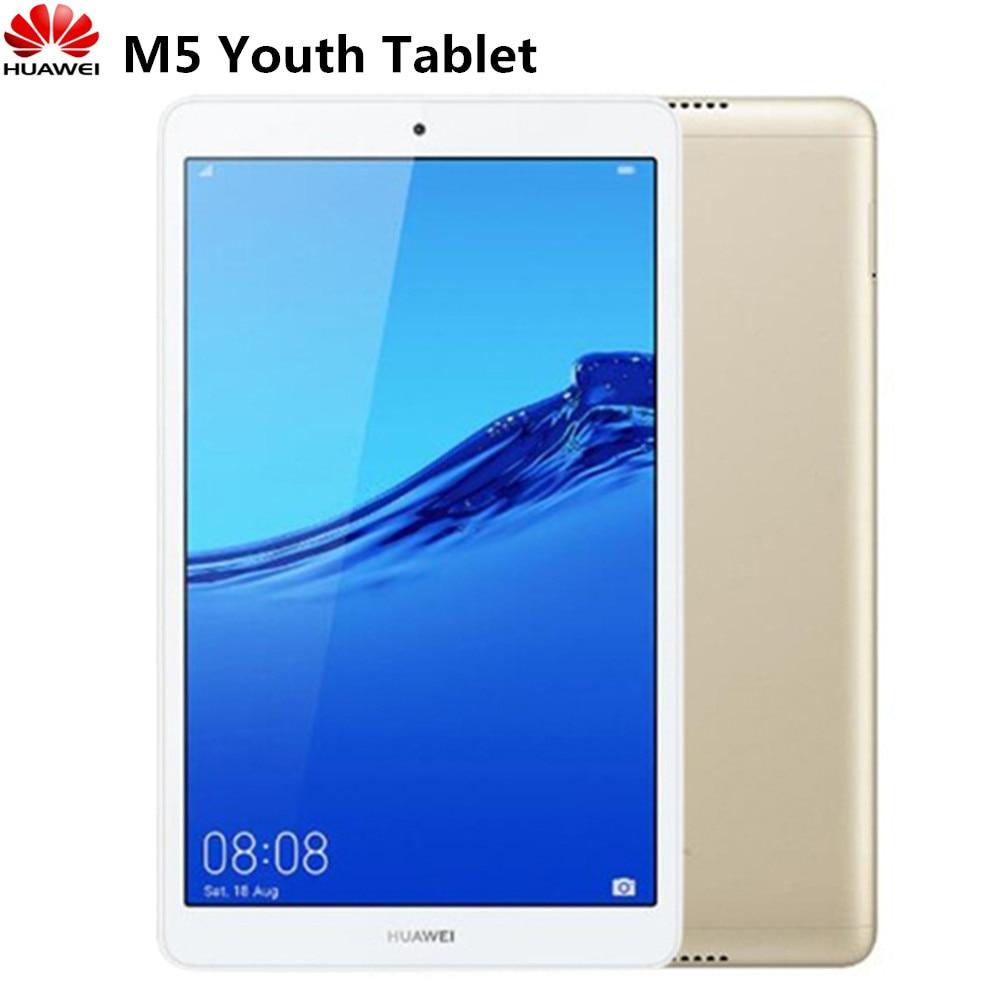 HUAWEI M5 jeunesse tablette Android 9.0 AI commande vocale 8.0 pouces Hisilicon Kirin 710 Octa Core 2.2 GHz 3 GB RAM 32 GB ROM double caméra