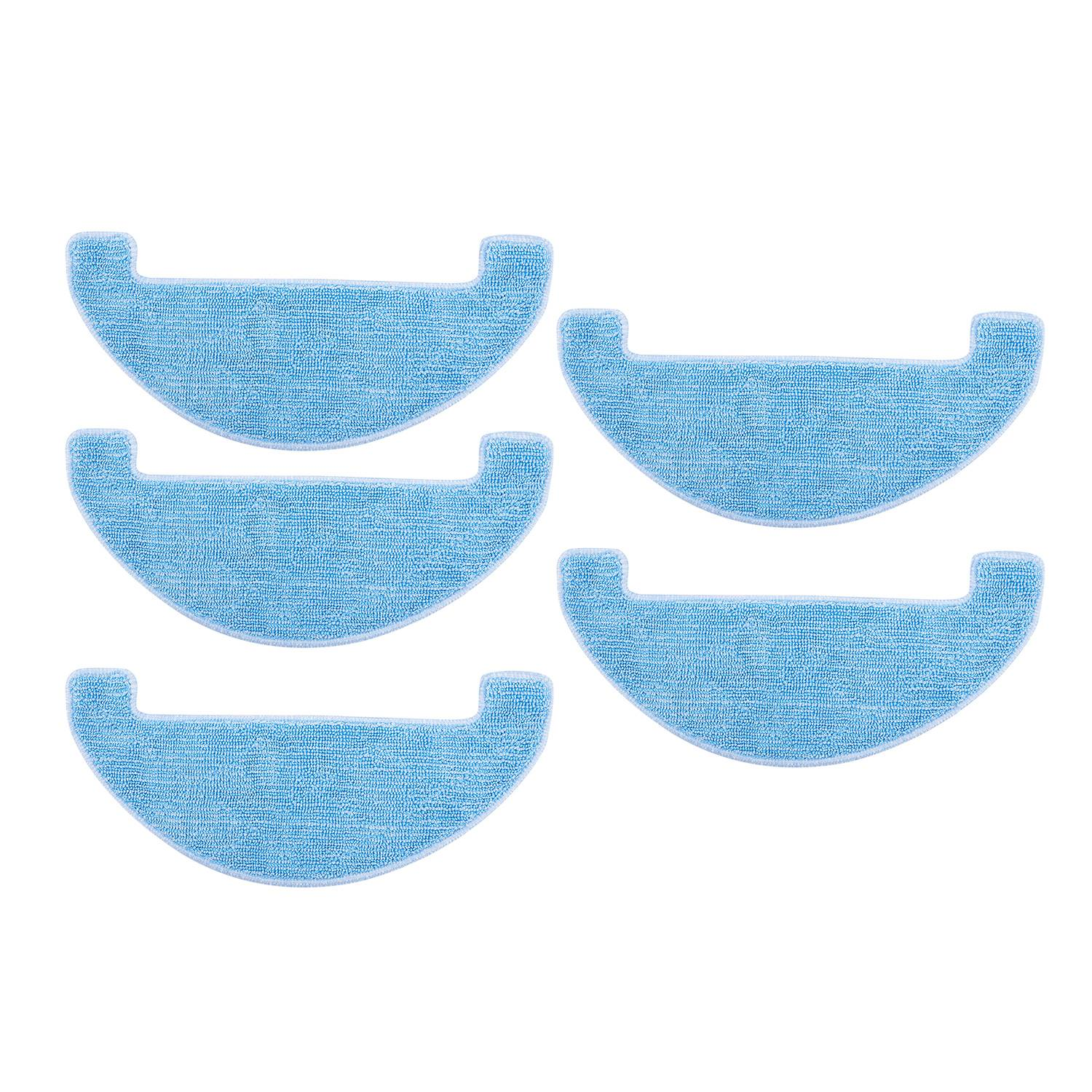 EAS-5Pcs Replacement Cleaning Pad Clean Mop For Ilife V80,V8S,X800,X750,X787,X785 Robotic Vacuum Cleaner Parts AccessoriesEAS-5Pcs Replacement Cleaning Pad Clean Mop For Ilife V80,V8S,X800,X750,X787,X785 Robotic Vacuum Cleaner Parts Accessories