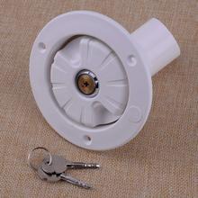מים נעילת כניסת הפתח מילוי כובע לבן עבור קרוון קרוון טרי מים RV קמפינג מוטורהום טריילר ניקוז מים טנק Caps