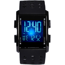 2019 Trendy  Men led Wristwatch Waterproof Electronic Sport watches Casual Fashion Digital Clock Running Gift Watch Children все цены