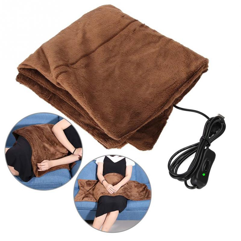 New Electric Winter Warm Heating Blanket Office Home Chair