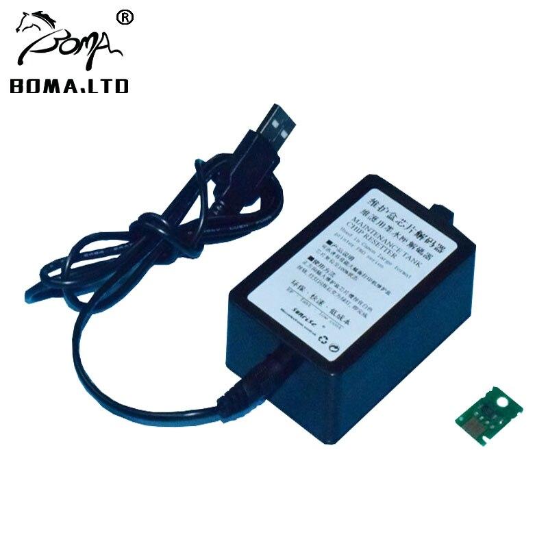 BOMALTD USB MC16 MC10 MC09 MC08 MC07 05 Waste Maintenance Tank Chip Resetter For Canon IPF680