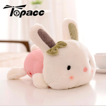 Doll Plush Cute Baby Rabbit Lies Toy Classical Lying Stuffed Animal Bunny Rabbits Kawaii Toys For Children Birthday