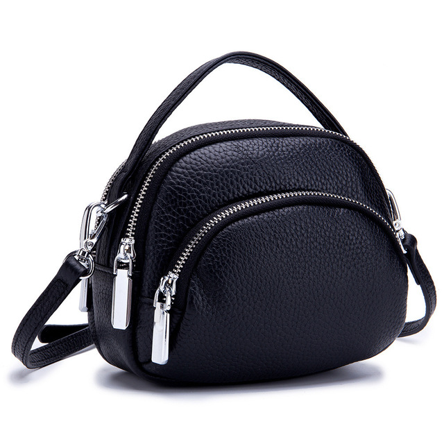 Flap Bags For Women Fashion Shoulder Bags Small Solid Messenger Crossbody Bags Cow Leather Crossbody Flap Bag