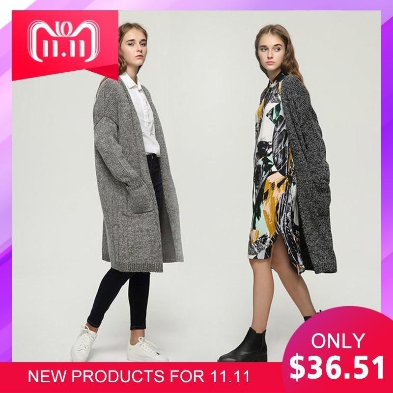 Maternity Korean Autumn Winter Woman Sweater Loose Coat Pregnant Rabbit's Hair Long Overcoat Knitting Blouse Wool Blends Onesize недорго, оригинальная цена