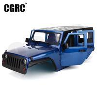 Unassembled 12.3inch 313mm Wheelbase Body Car Shell for 1/10 RC Crawler jeep Cherokee Wrangle Axial SCX10 & SCX10 II 90046 90047