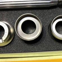 1b732c2cb74 7 Pcs de Volta Kit Ferramenta de Reparo do Relógio Relojoeiro Removedor Caso  Abridor de Gadgets Para ROLEX