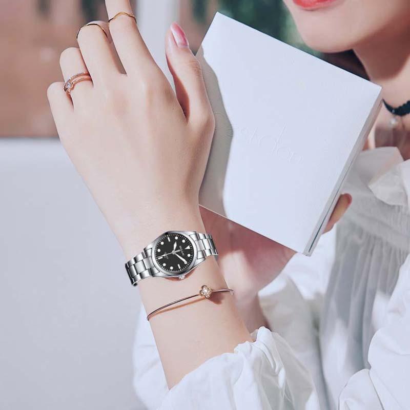 3 color waterproof Watch Women Quartz Watches Ladies Top Brand Crystal Luxury Female Wrist Watch Girl Clock Relogio Feminino shengke top brand quartz watch women casual fashion leather watches relogio feminino 2018 new sk female wrist watch k8028