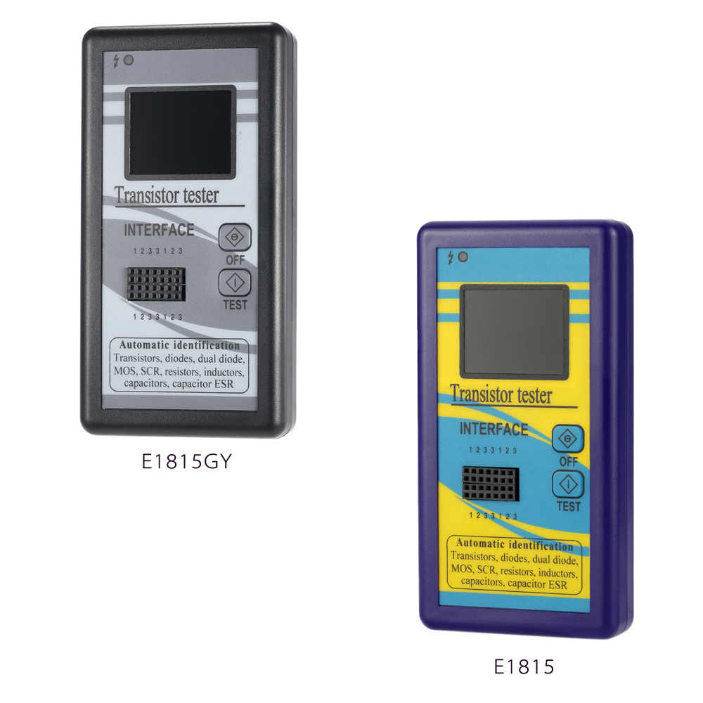 متعددة الوظائف الترانزستور اختبار 128*160 TFT اللون عرض ديود الثايرستور السعة المقاوم الحث MOSFET ESR متر